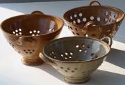 Wattlefield Pottery Colanders
