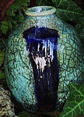 Wattlefield Pottery Raku Pot