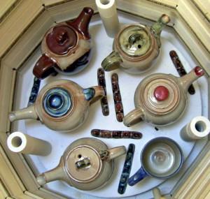 Wattlefield Pottery kiln opening
